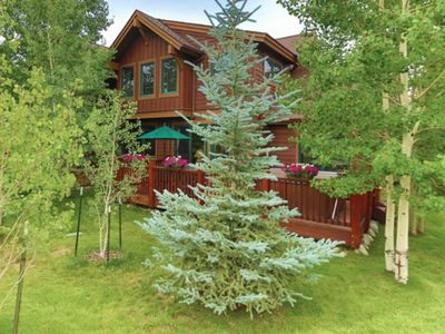 Photo for Ideal Getaway/Luxury Home/ Door-to-Door Ski Shuttle Service/Pvt Hot Tub & More!