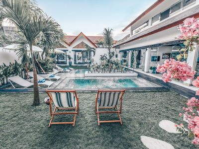 Photo for Amazing oasis in the happening of Canggu 7bdr