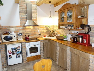 Photo for Holiday house renovated farmhouse with air conditioning and WiFi
