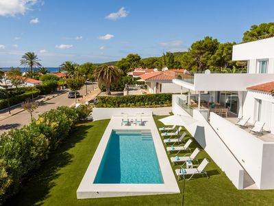 Photo for Luxury Villa with private pool and sea views 5 minutes from the beach