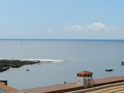 Photo for Penthouse apartment with private roof terrace - Jacuzzi area with 360ª sea view
