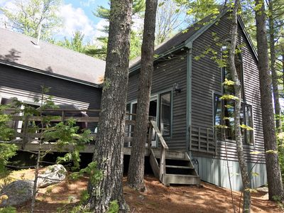 Photo for Comfortable lake home on pristine Beech Hill Pond