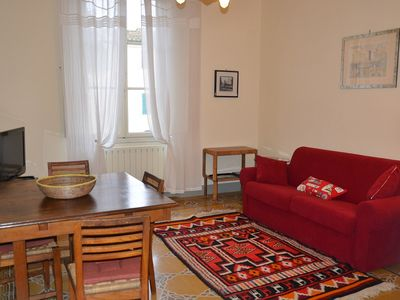Photo for Spacious and bright apartment with private parking 5 minutes from the center