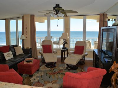 Photo for Direct Oceanfront Luxury Condo - Newly Updated, *No-Drive Beach - Owner Managed