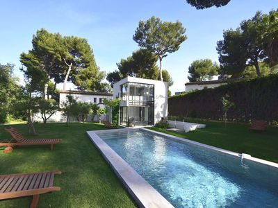 Photo for THE HEART OF THE CAP D'ANTIBES LARGE VILLA WITH POOL