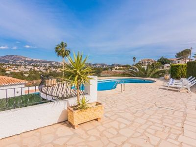 Photo for 4 bedroom Villa, sleeps 8 in Urbanització Montemar with Pool and WiFi