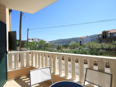 Photo for Three bedroom apartment with terrace Poljica, Trogir (A-8682-b)