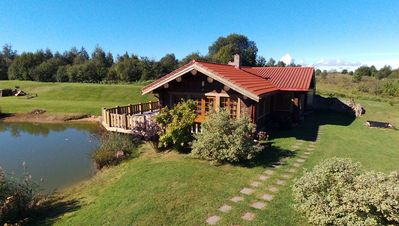 Photo for Sodyba prie Balčio- Log cabin near the lake Baltis