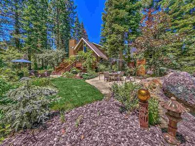 Photo for Dog ok. Gorgeous, updated, clean retreat. Hot tub, tranquil park-like grounds