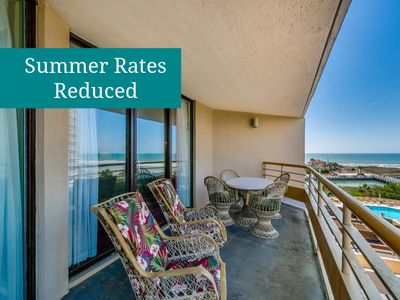 Photo for Newly-Updated 3-BR - Ocean Views & Top Amenities - Walk to Barefoot Landing!