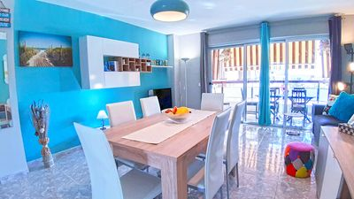 Photo for Cool and big apartment 50 mt by the ocean 6-8 Pax