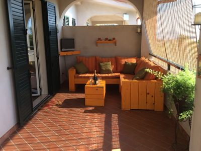 Photo for Apartment with Private Pool and Sea Views over Sicily