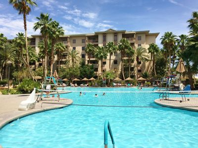 Photo for Tahiti Village Resort in Las Vegas - 2 Bedrooms 2 Baths Suite - Sleeps 8