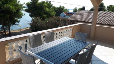 Photo for Two bedroom apartment near beach Tkon, Pašman (A-8454-a)
