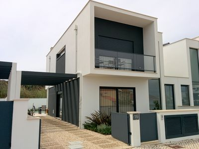 Photo for CASA LIMAO brand new house with heated pool, near the sea, dunes, forest.