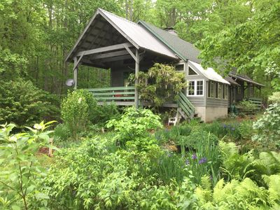 Photo for Luxury Rustic Cape Cod Lodge Adjoining Jefferson Nat'l Forest 5 mi. to VT Campus