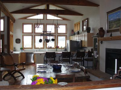 Photo for In town - Beautiful Spacious Telluride Penthouse, Fireplaces, 80 inch TV