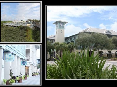 Photo for It's a Waterful Life, 2BR Flat in WaterColor Town Center near Beach Club