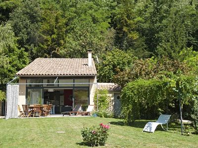 Photo for Detached house with beautiful garden in Vinsobres Provencal Drome for 2 people