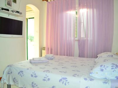 Photo for Studio flat with terrace and sea view Bol (Brač)