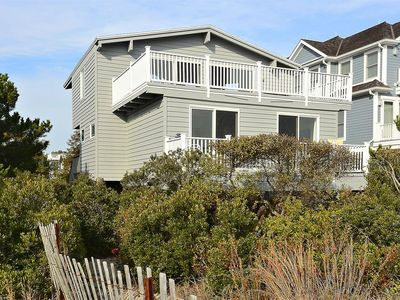 Photo for FREE DAILY ACTIVITIES!! Enjoy the endless Ocean Front views from the upper level deck! Nicely furnished 4 bedroom, 2.5 bath vacation beach house