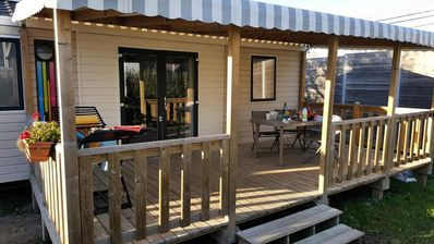 Photo for Camping L'Eden **** - 5 room Mobile Home Univers Family 8 people