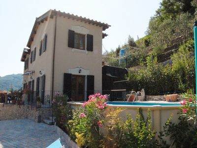 Photo for Detatched Villa With Pool In Walking Distance to Fornoli, Bagni Di Lucca
