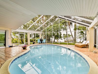 Photo for Cape Coral Riverfront Home w/Pool - Walk to Beach!