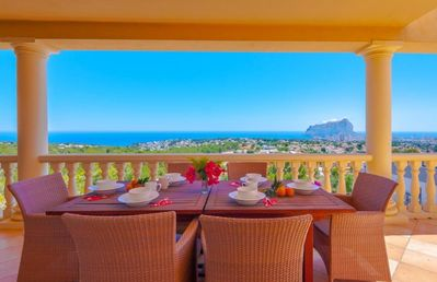 Photo for VISTAS, beautiful villa in Calpe for 12 pax with sea views, private pool and free wifi