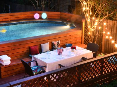 Photo for Safe, Luxury alternative to hotels with Private Pool!