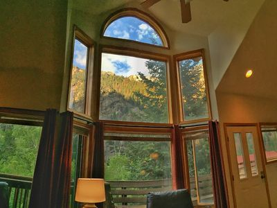 Photo for Updated Condo - Great Location - Mile to Downtown Ouray - Spectacular Views