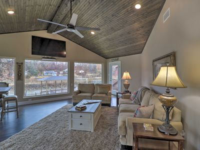 Photo for NEW! Lakefront Haven Near Oaklawn & Casino Resort