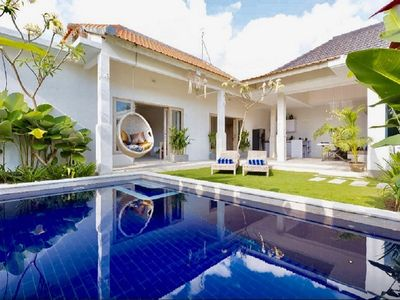 Photo for ❤️ LUX 3 BR SEMINYAK POOL VILLA (SLEEPS 6) IN SEMINYAK - WALK TO BEACH ❤️