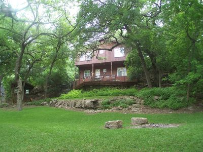 Photo for Gruene River Vacation Home and Cottage on the Guadalupe River! 16/5 Bed/3.5Bath.
