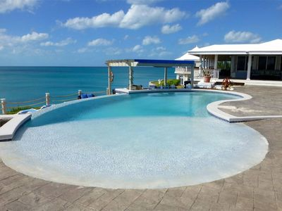 Photo for CLIFF-TOP ESTATE WITH POOL, Spectacular Sunsets, Direct Caribbean Access