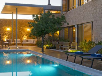 Photo for Vacation home Kondomari Villa in Maleme, Chania - 7 persons, 3 bedrooms