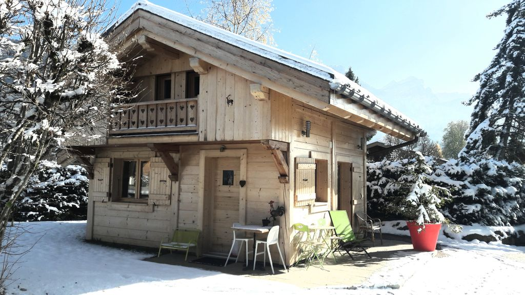 Chalet individuel d 39 exception 40m2 central ski bus wifi pkg garage skis abritel - Garage du ski les carroz ...