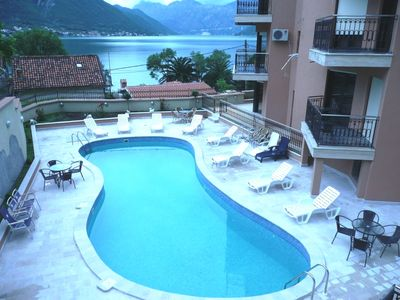 Photo for Exclusive 2 bedrooms sea view apartment with swimming pool