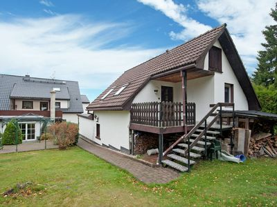Photo for Cosily furnished holiday home in the Vogtland with terrace and swimming pool