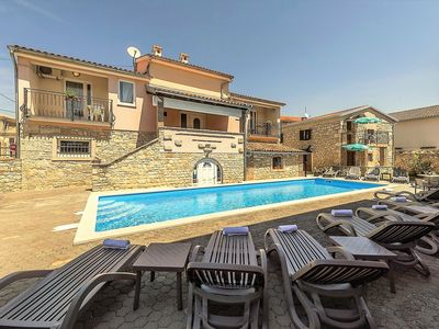Photo for Apartment Complex Valtrazza with Common Pool / Two-Bedroom Apartment Noemi III in Villa Valtrazza with Shared Pool