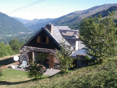 Photo for Chalet located on the pass next to Peyragudes unobstructed view of the valley