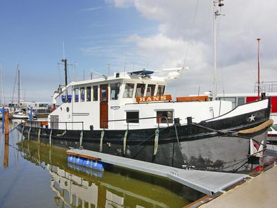 Photo for Houseboat Holländischer Schlepper, Ribnitz-Damgarten  in Fischland, Darß und Zingst - 4 persons