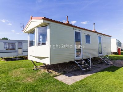 Photo for 6 berth caravan for hire at Sunnydale holiday park in Lincs Skegness ref 35135