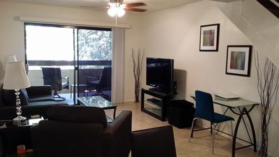 Photo for Business Travelers Book Here!  Walk to the Light Rail & ASU.  In a Gated Complex