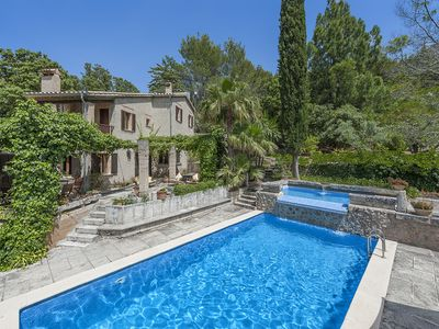 Photo for 4 BEDROOM VILLA WITH AMAZING GARDENS AND 2 LEVEL SWIMMING POOL WITH WATERFALL
