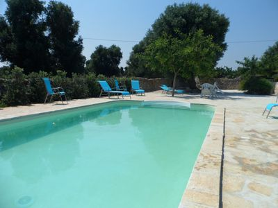 Photo for Appartamento Terra in Masseria con piscina