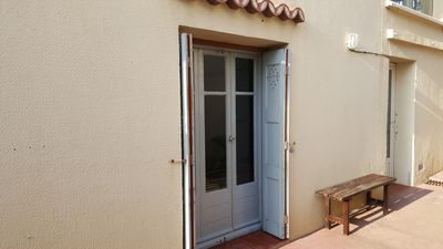 Photo for GROUND FLOOR OF HOUSE 50 meters from the beach - 2 bedrooms - Parking