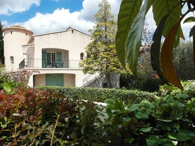Photo for Provençal house with pool, within walking distance of Nyons, known for the many olive groves