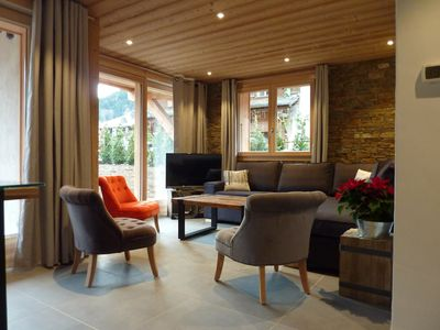 Photo for Chalet apartment 6 pers. center of Morzine