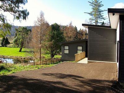 Photo for Pa at the Park with Spa - Ohakune Holiday Home